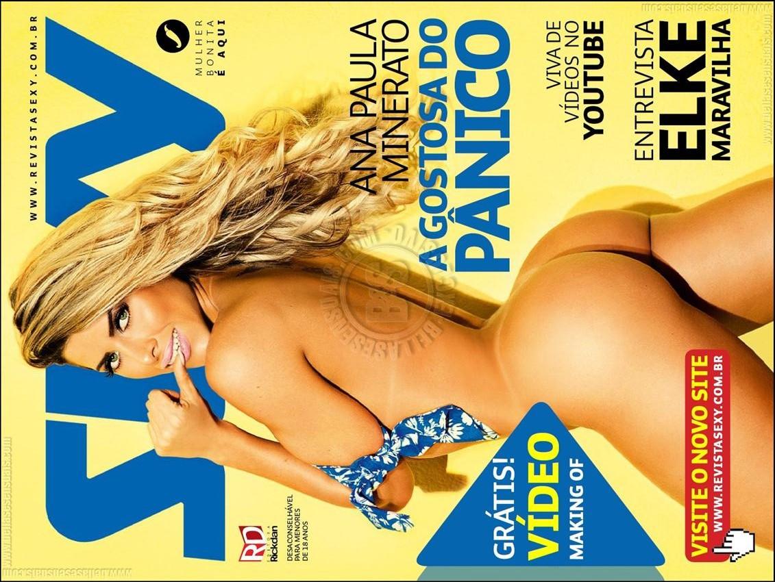 Ana Paula Minerato – Revista Sexy Completa – Agosto 2014