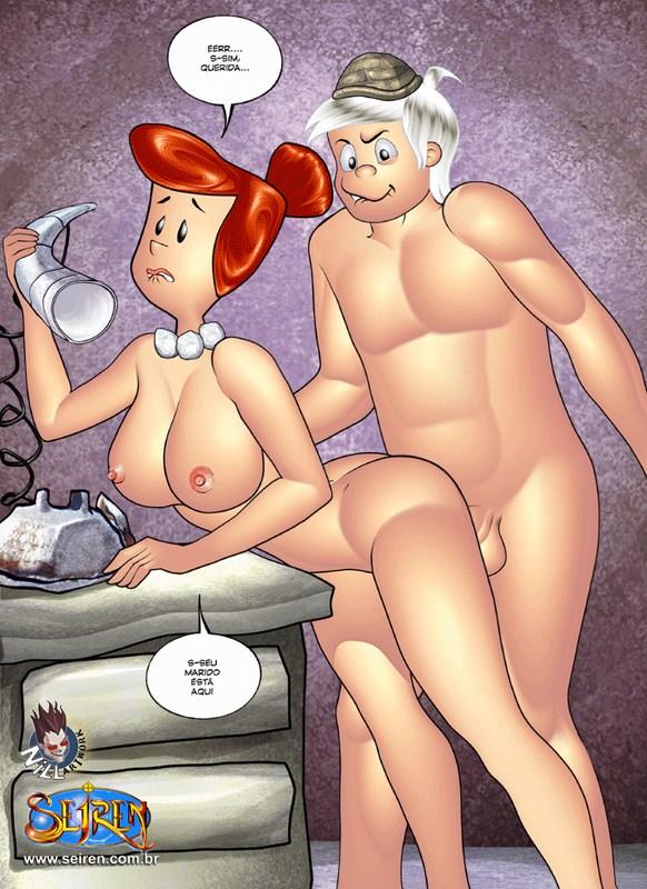 As Rodas Sociais – Fucknstones 3 Parte 1 – Quadrinhos Eróticos