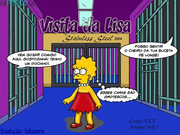 Visita da Lisa -  Os Simpsons  (1)
