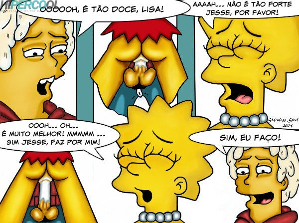 Visita da Lisa -  Os Simpsons  (8)
