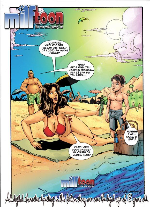Obsessão 01 Incesto Mãe e Filho – Milftoon – Quadrinhos Eróticos