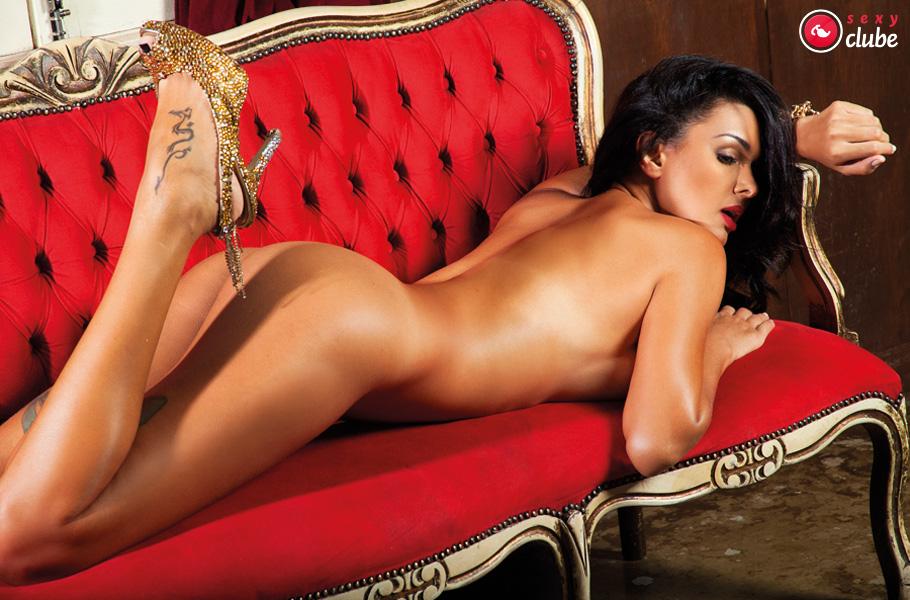 Patricia Andrade Pelada Nua na Revista Sexy