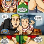 Turma da vila – Chaves Erótico – Quadrinhos Adulto