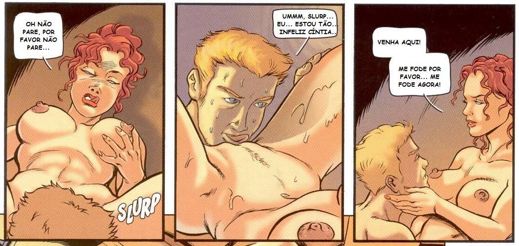Tres Amigos – Quadrinhos Eróticos