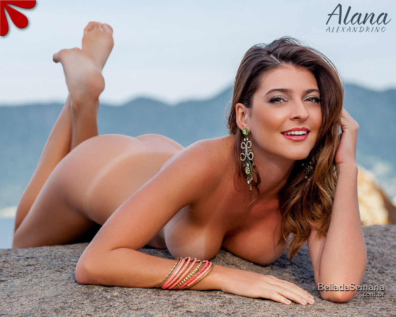 Alana Alexandrino – Gata mais Gostosa da Semana