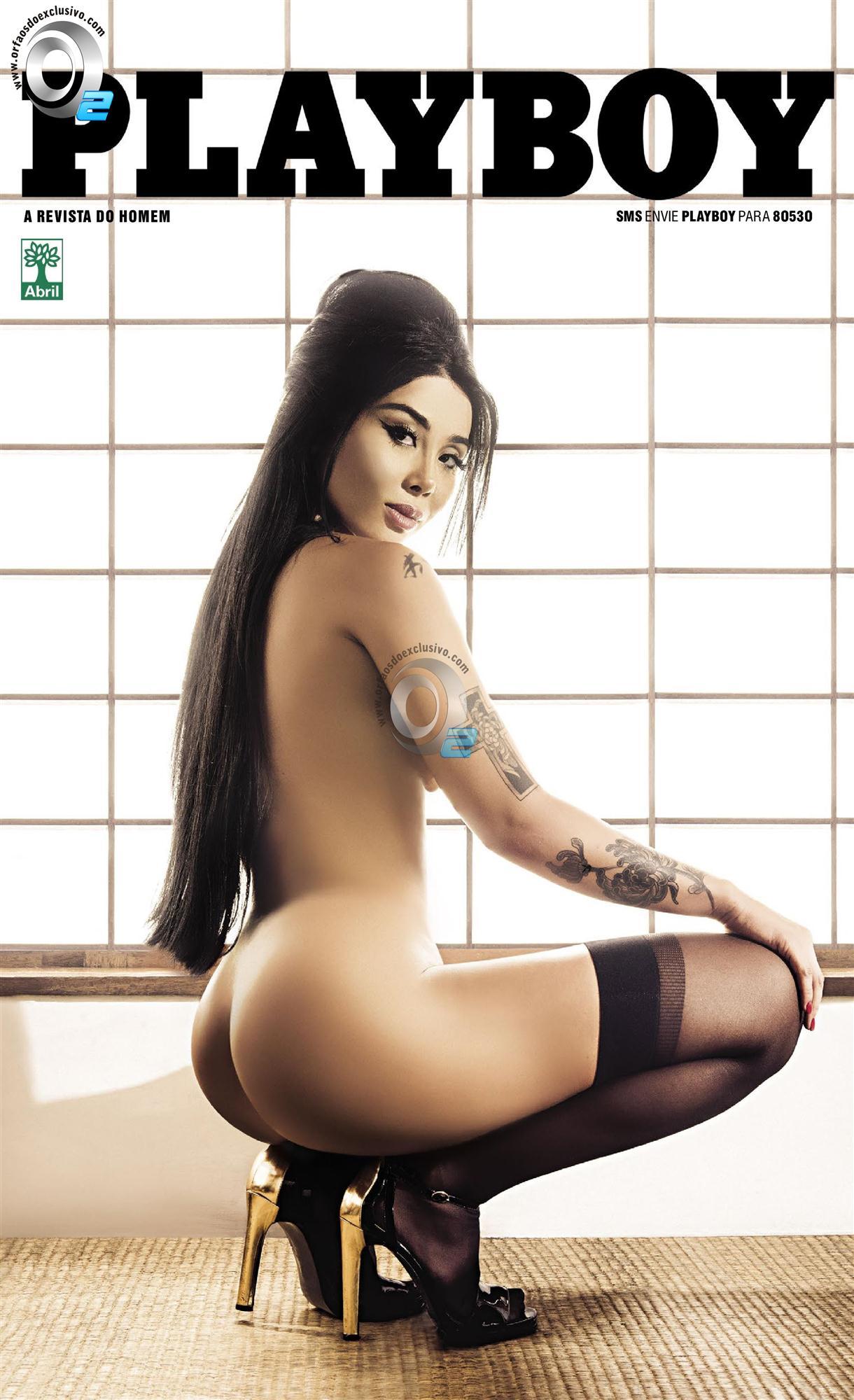 Natalia Inoue – Revista Playboy – Setembro 2014