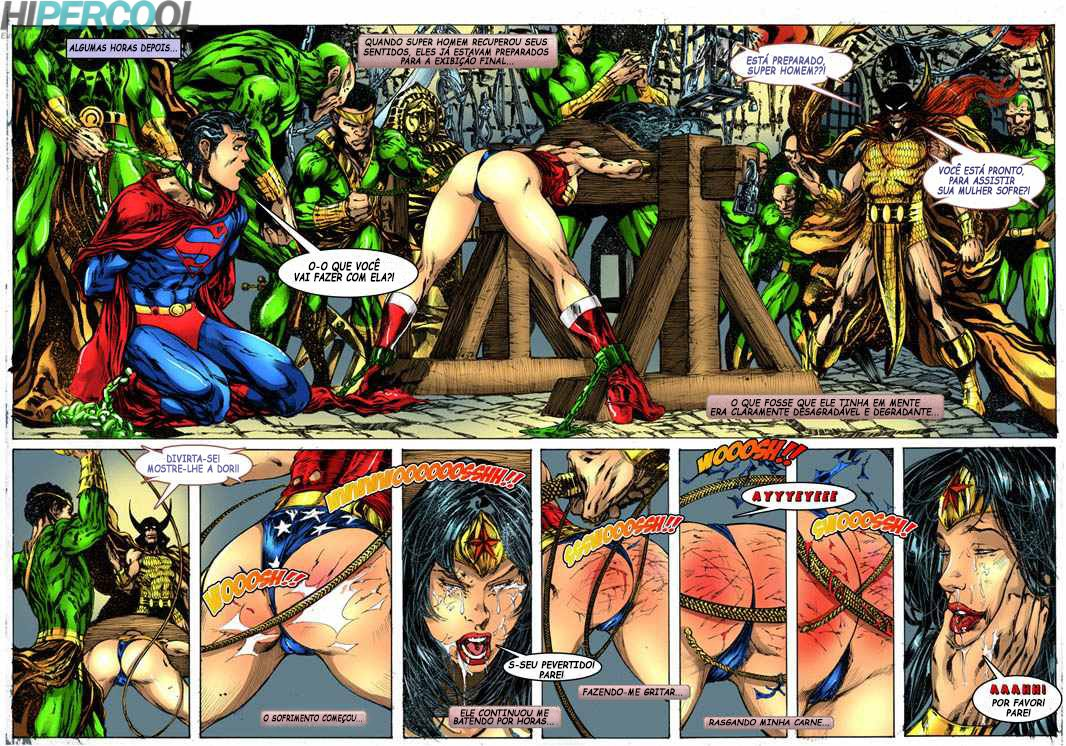 Superman – Wonder Woman vs Warlord – Quadrinhos Eróticos