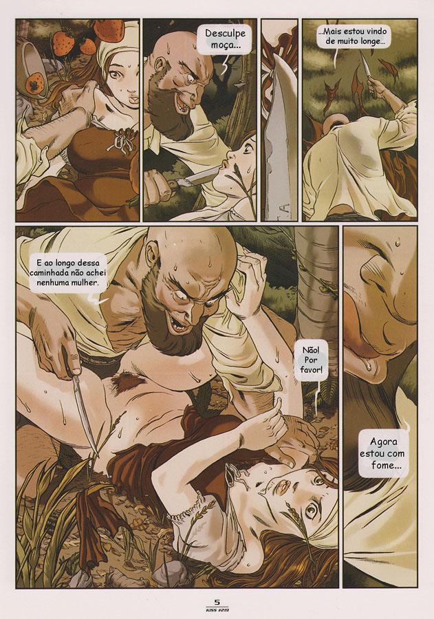 inocente erótico orgía