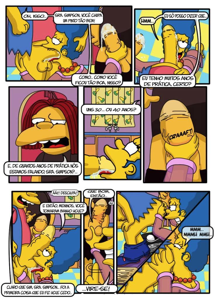 sexo com marge Lisa fazendo a