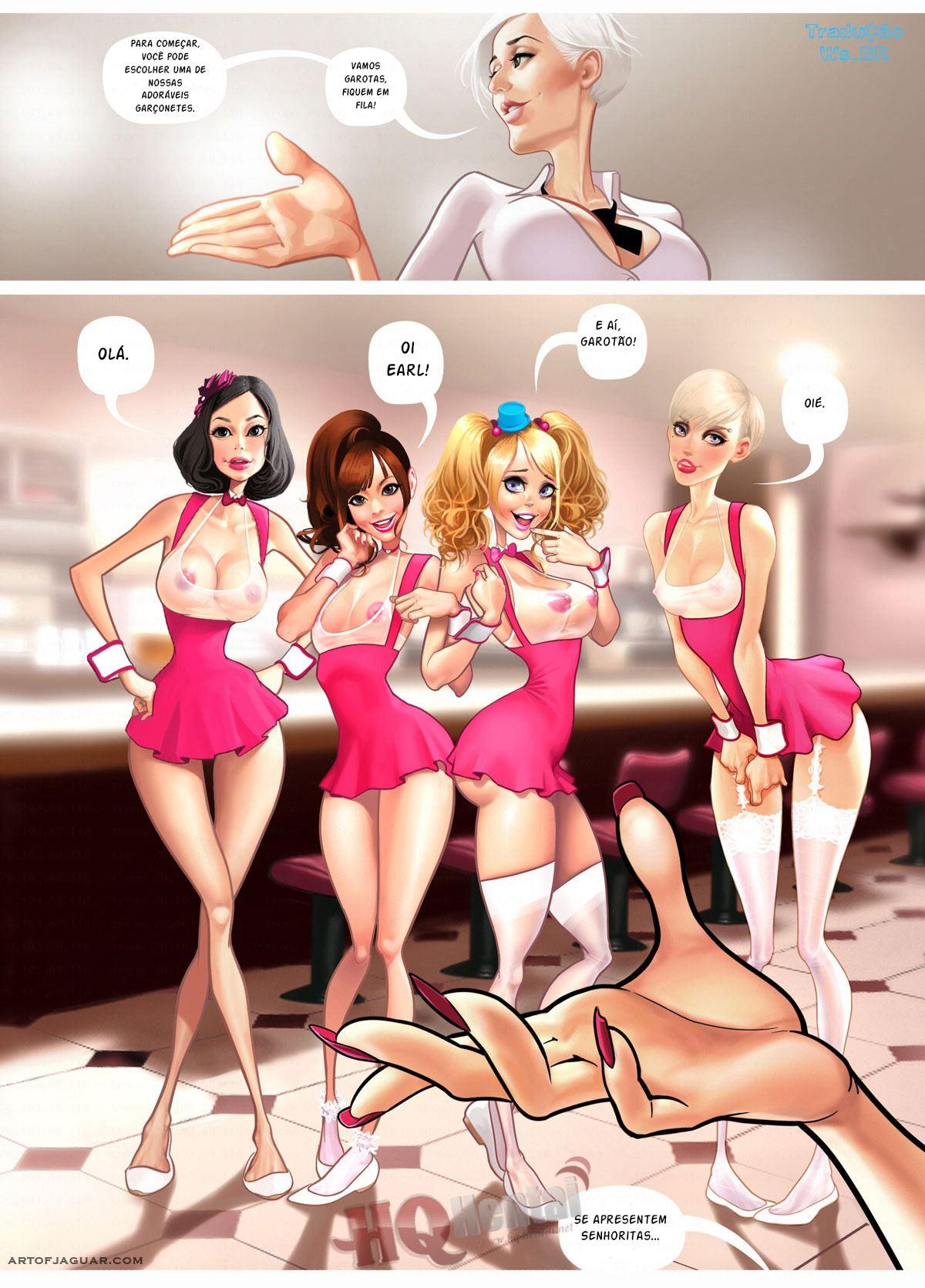 Coochies Sex Dinner – Novinhas Gostosas – Quadrinhos Eróticos
