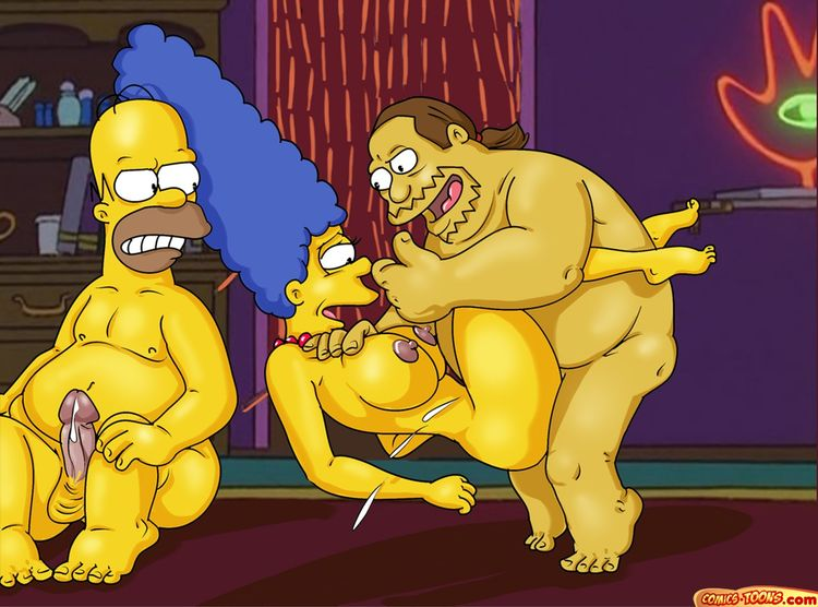 Not Porno animado de bart y lisa