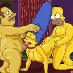 Marge Simpson na Suruba – Quadrinhos Eróticos