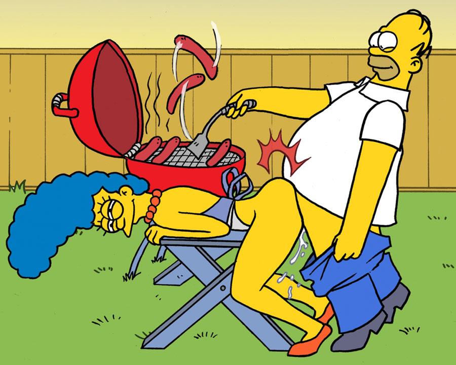 Os Simpsons – Churrasco de Boceta – Quadrinhos Eróticos
