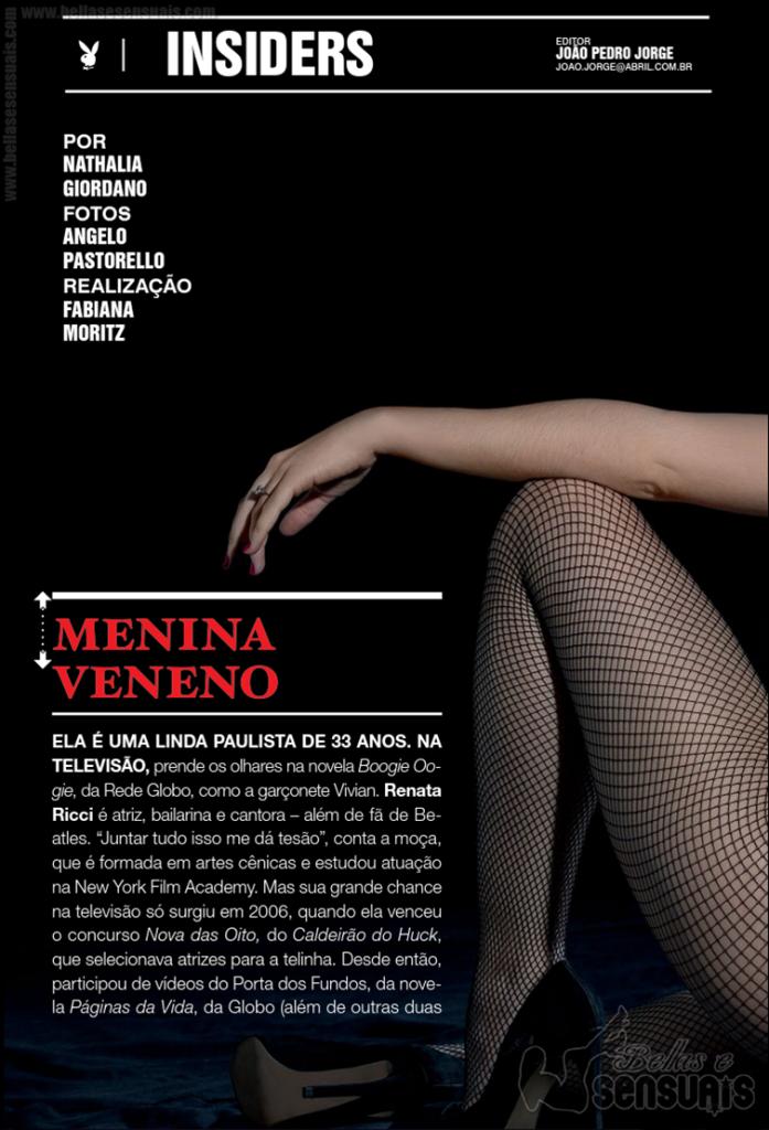 Revista Playboy – Marcela Pignatari  (2)