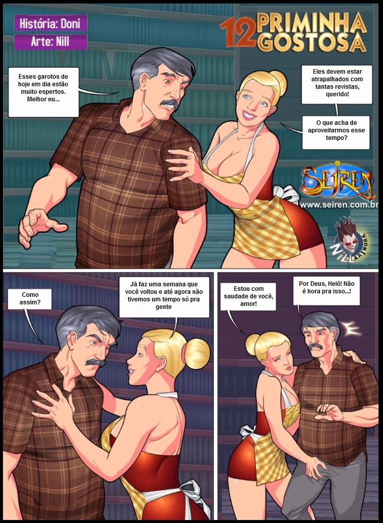Milf Experimentar 02 Quadrinhos Erticos Revistas E ...