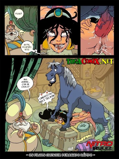 Cavalos e Garotas - HQ Comics (2)