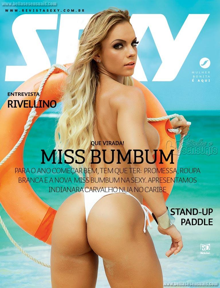 Indianara Carvalho – Revista Sexy De Janeiro 2015