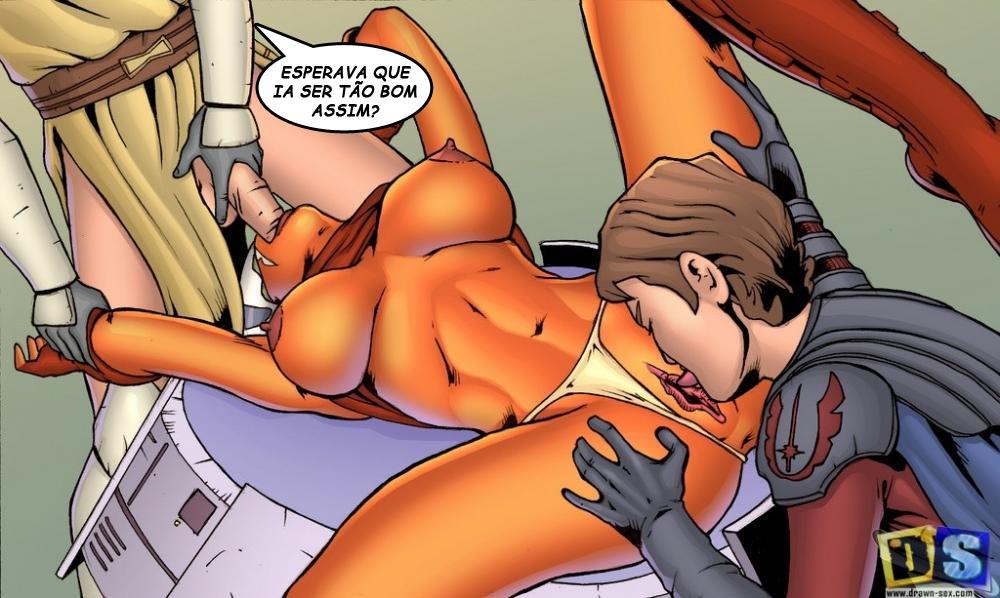 асока порно комикс