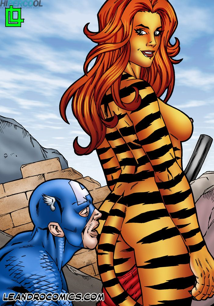 Tigra makes your meat sword purr! (1)