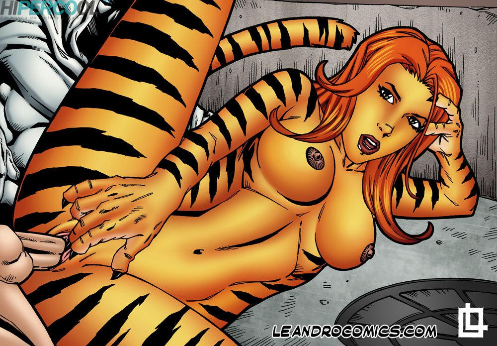 Tigra makes your meat sword purr! (11)