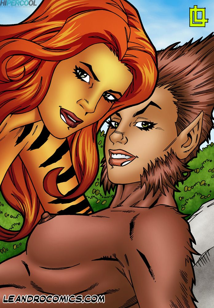 Tigra makes your meat sword purr! (18)