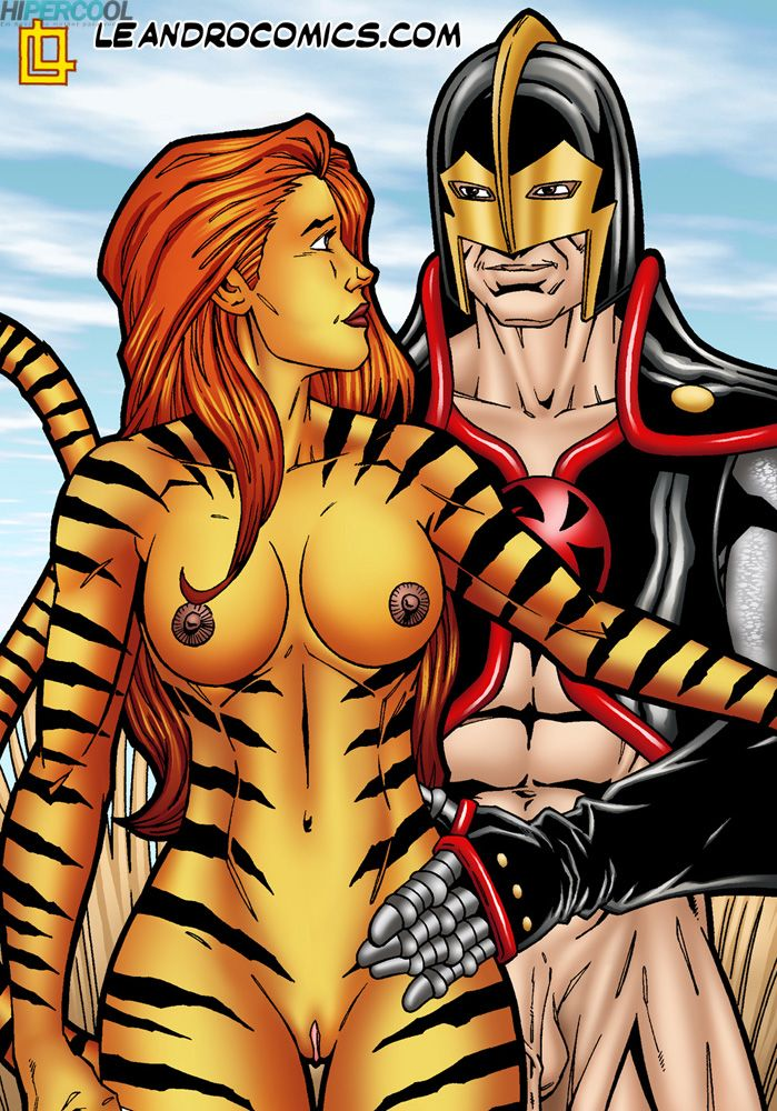 Tigra makes your meat sword purr! (24)