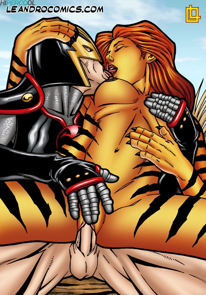 Tigra makes your meat sword purr! (28)