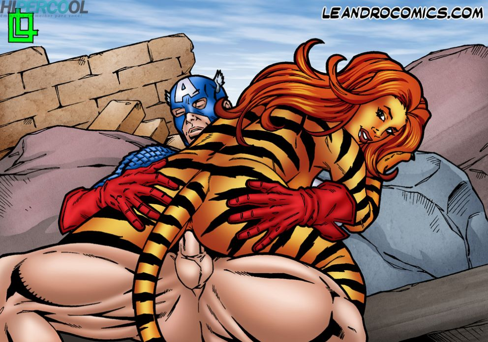 Tigra makes your meat sword purr! (4)