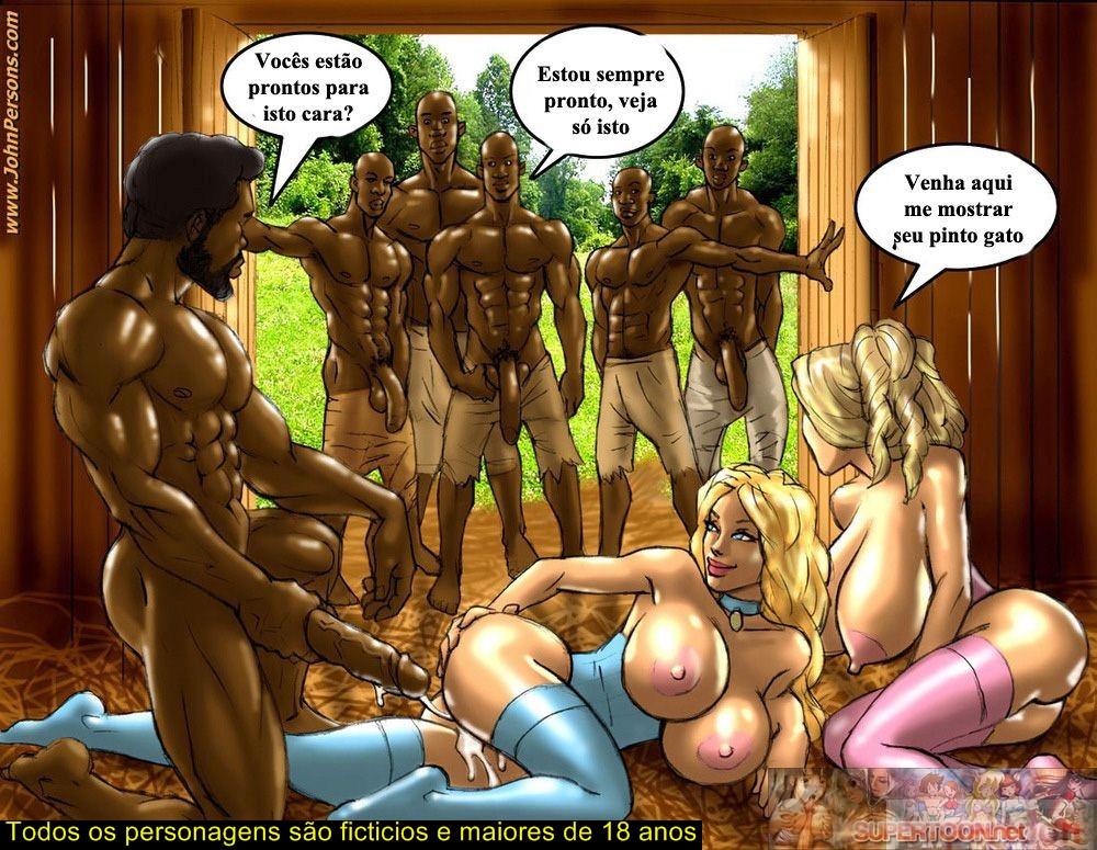 2 Hot Blondes – Plantation – Part 2 – Quadrinhos Eróticos