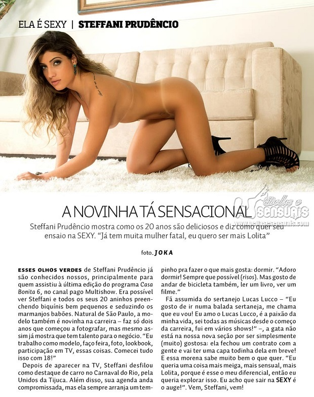 Thays Vita e Thamy Sorel Nuas na Revista Sexy  (3)