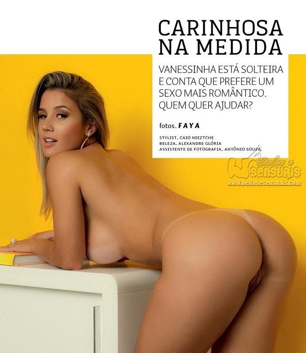 Vanessinha Vailatti peladinha na Revista Sexy de Maio 2015