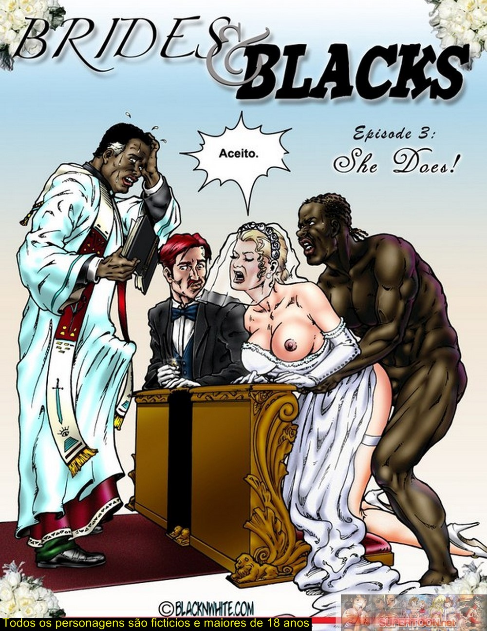 Brides and Blacks 3 – Quadrinhos Eróticos