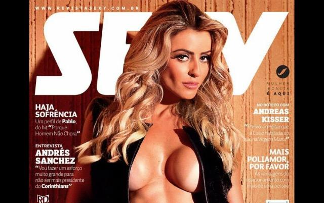 Alice Ramos Nua na Revista Sexy – Junho 2015