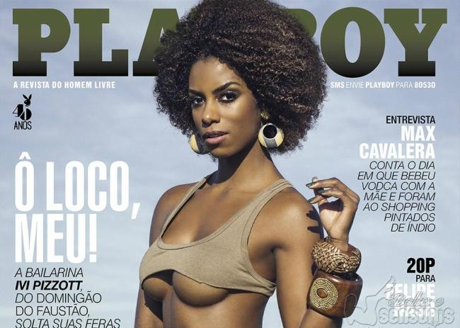 Ivi Pizzott Nua na Revista Playboy Maio 2015