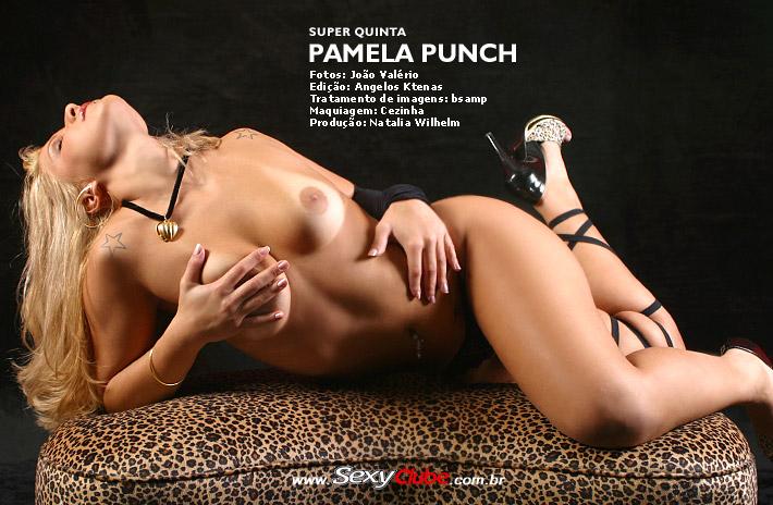 Pamela Punch Pelada Nua no Sexy Clube