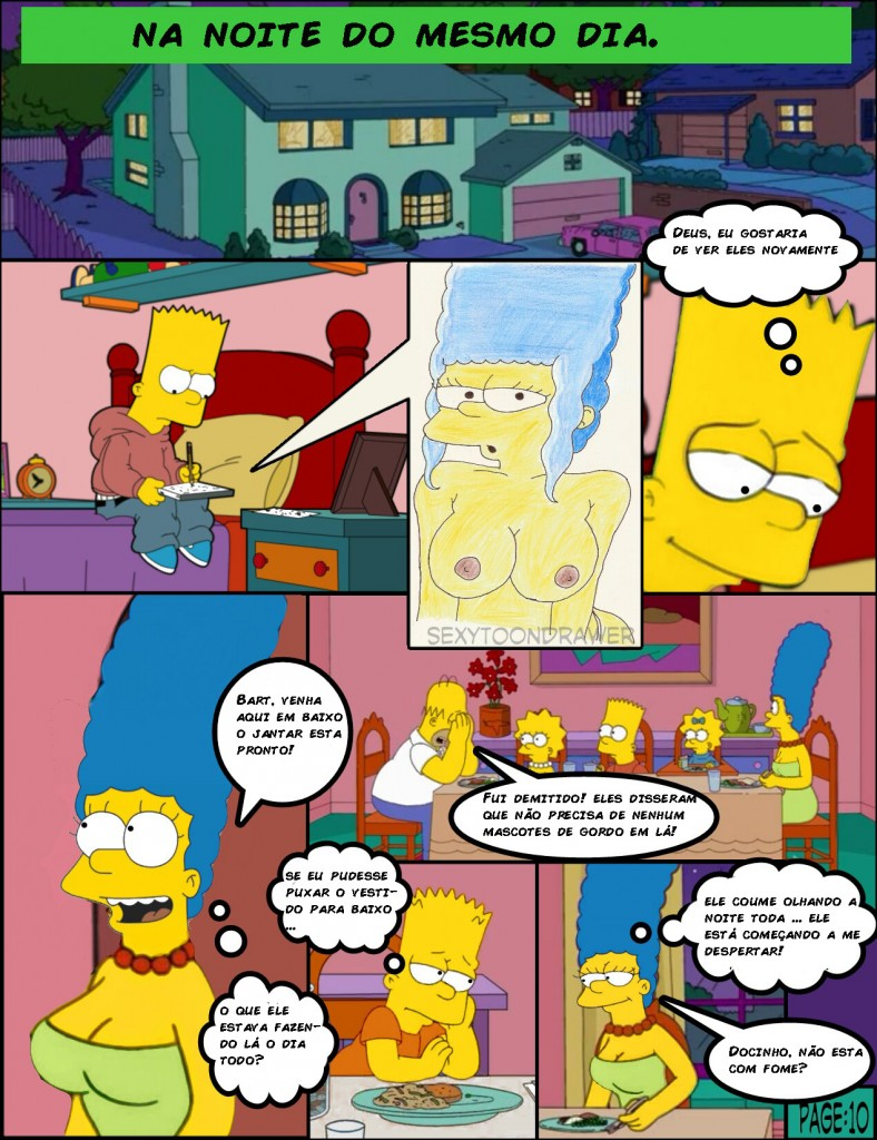 Os simpsons -Hot days (10)