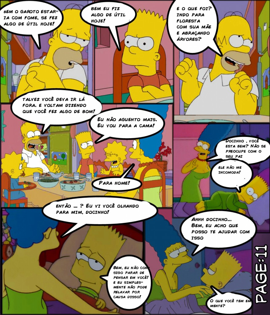 Os simpsons -Hot days (11)
