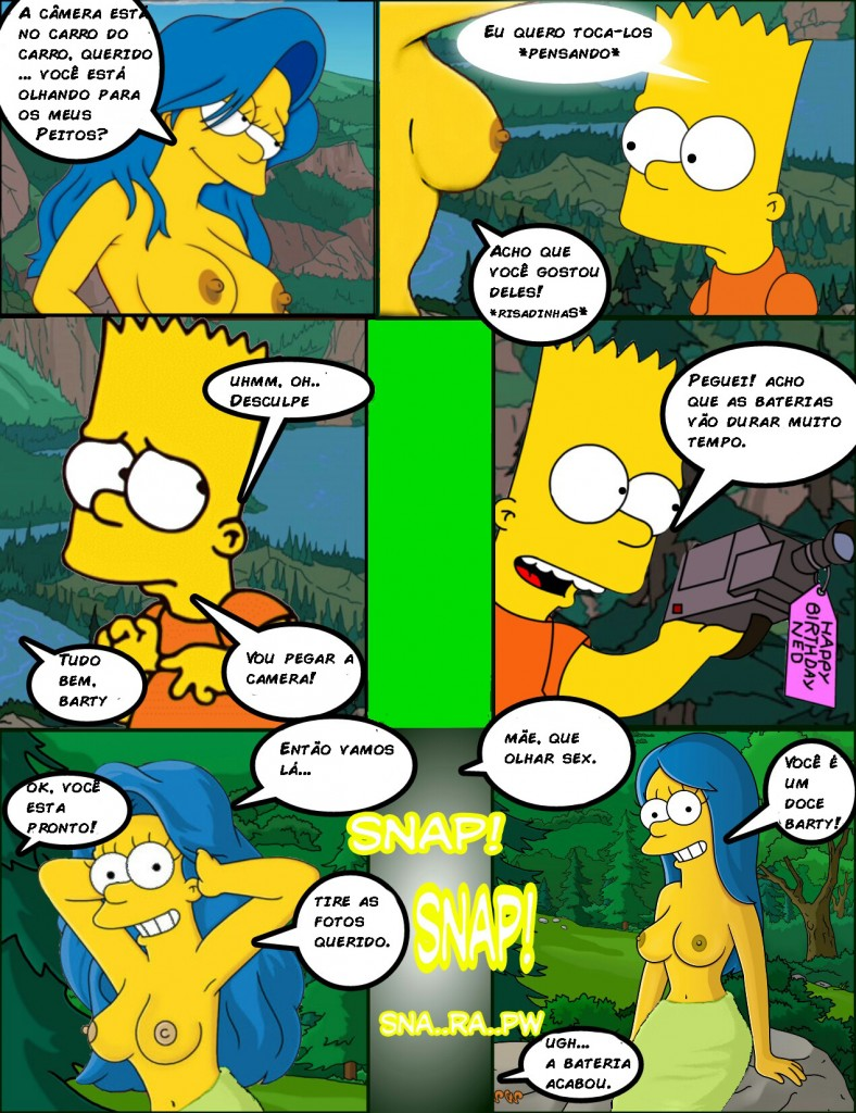 Os simpsons -Hot days (7)