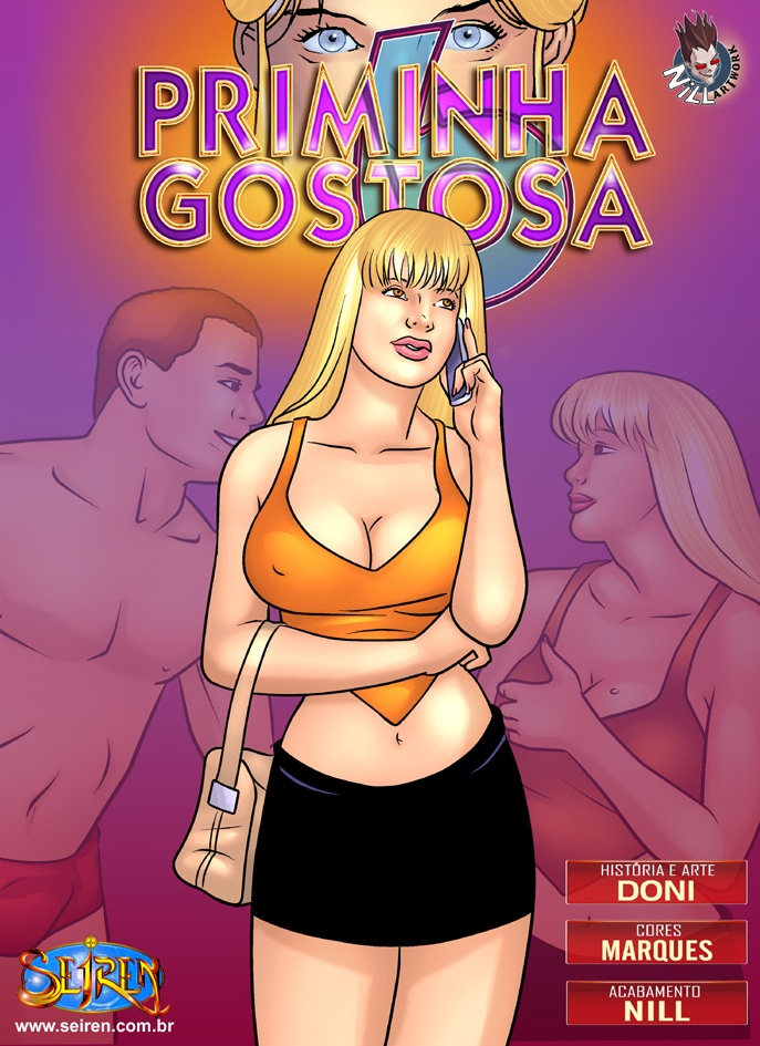 Priminha Gostosa 6 – Quadrinhos Eróticos