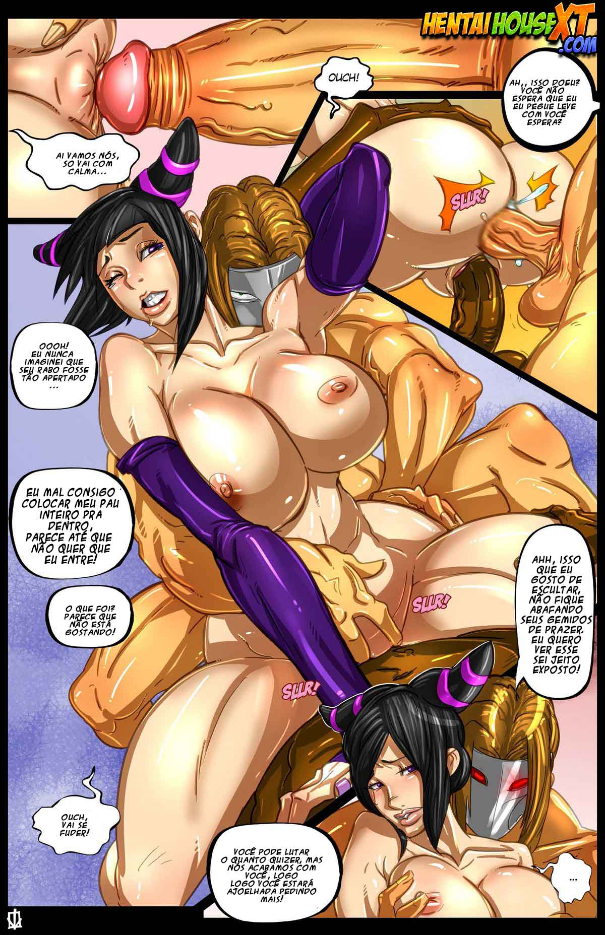Street Fighter – Hentai Comics