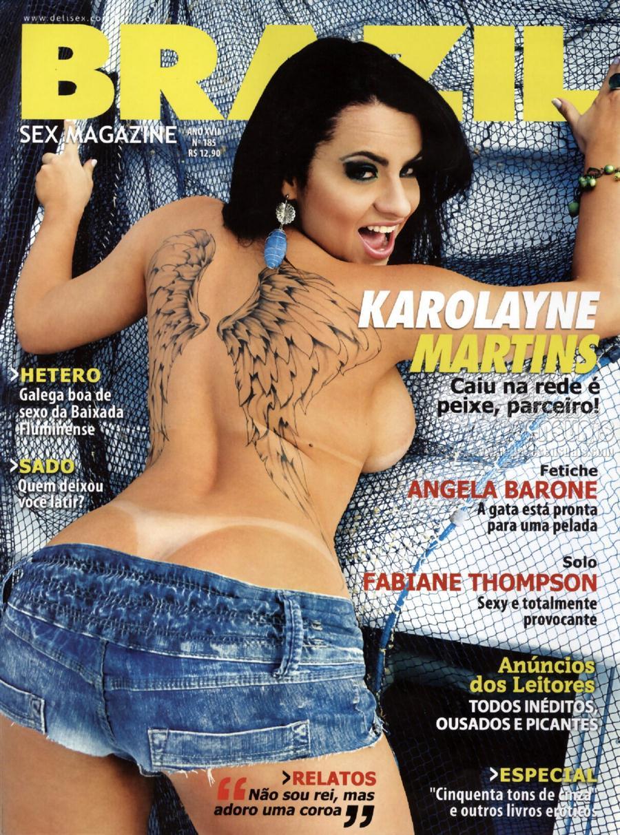 Angela Pelada karolayne martins – revista brazil   revistasequadrinhos