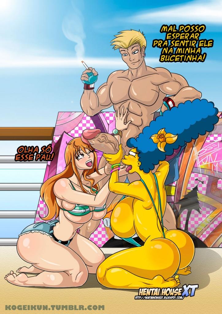 Kogeikun Samples Simpsons – Quadrinhos Eróticos