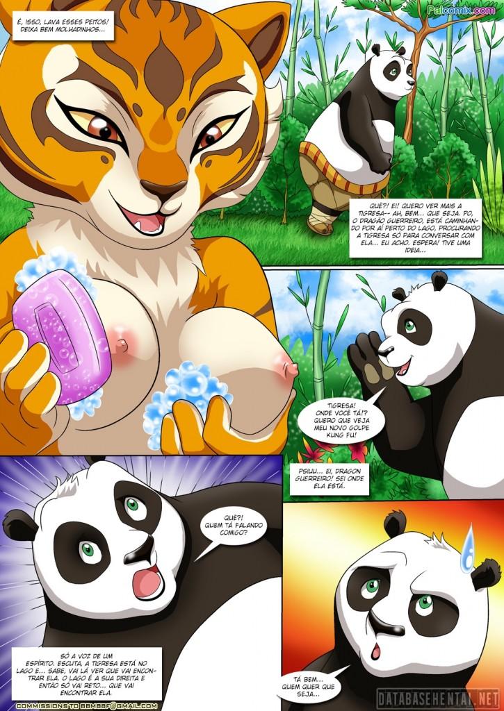 Kung Fu Panda porno fumetti