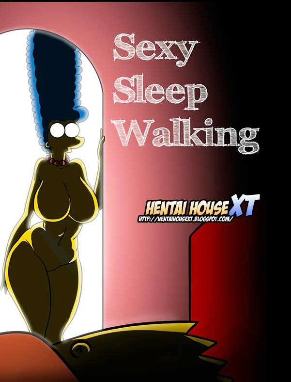 Os Simpsons – Sexy Sleep Walking – Quadrinhos Eróticos