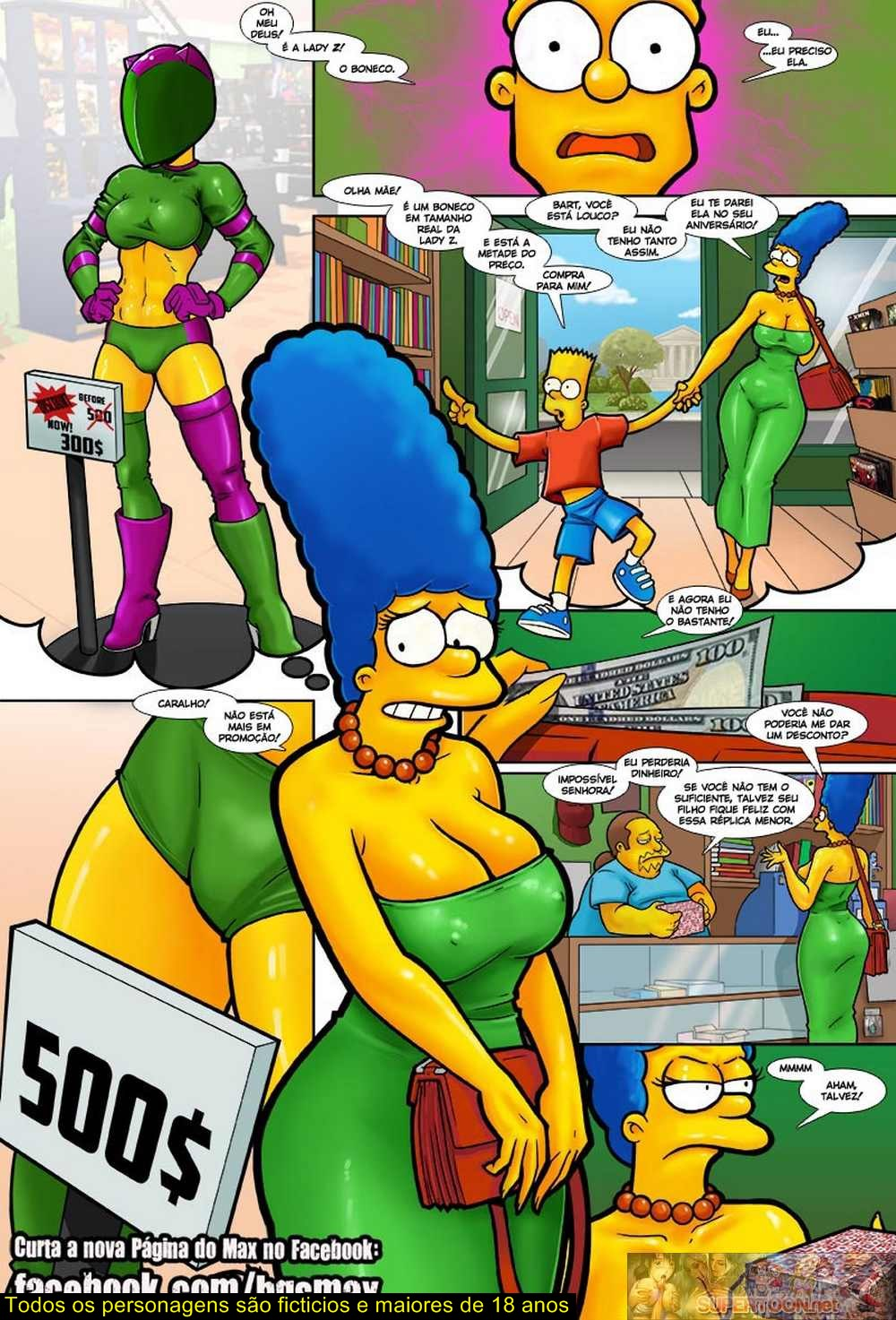 The Gift – Simpsons – Quadrinhos Eróticos