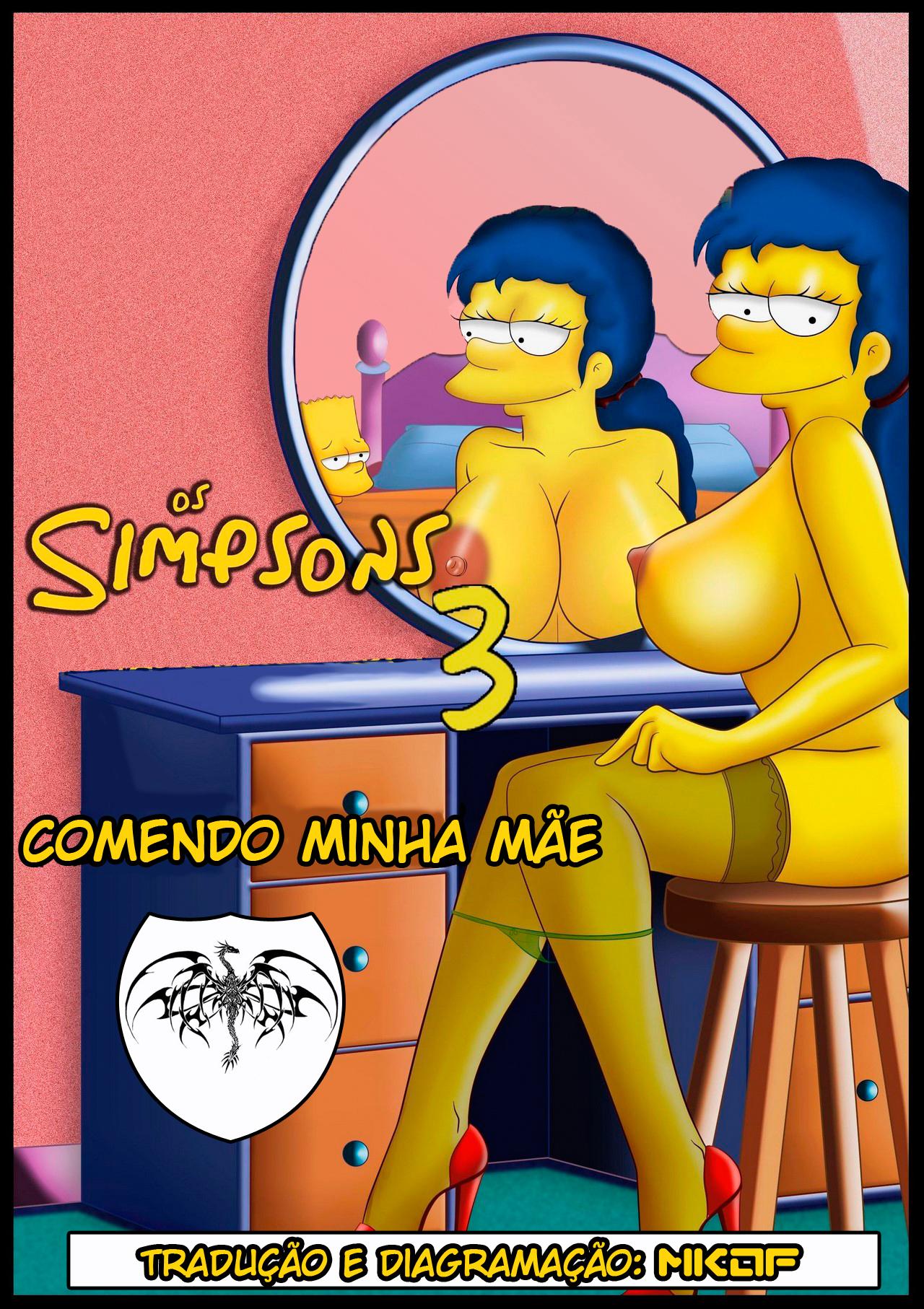 Simpsons 03 – Comendo minha Mãe – Quadrinhos Eróticos