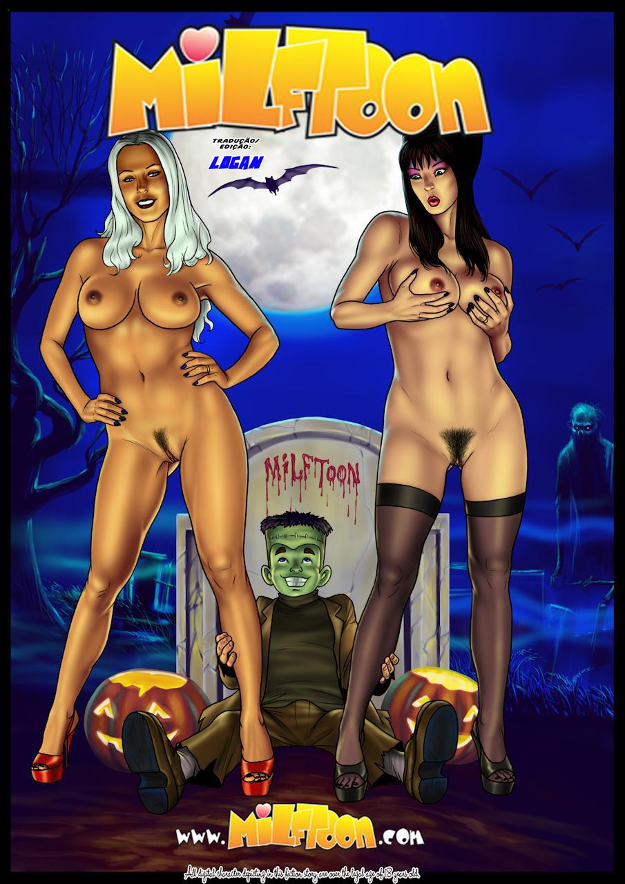 Milftoon – Fright Night – Quadrinhos Eróticos