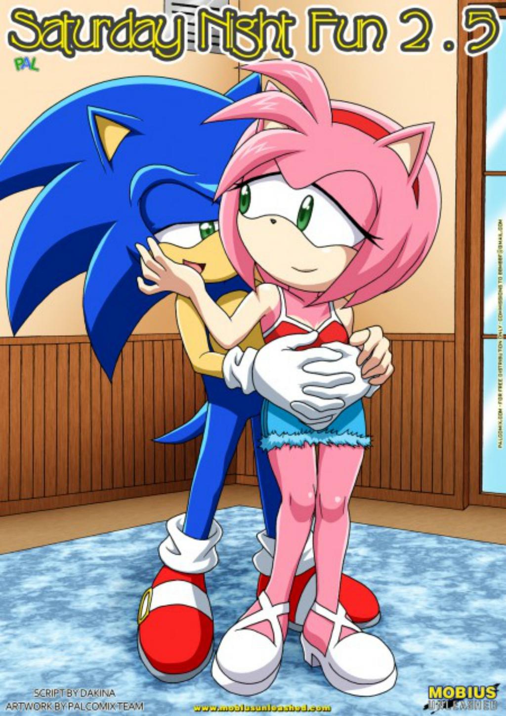 Sonic – Diversão de sábado a noite 3 – HQ Comics