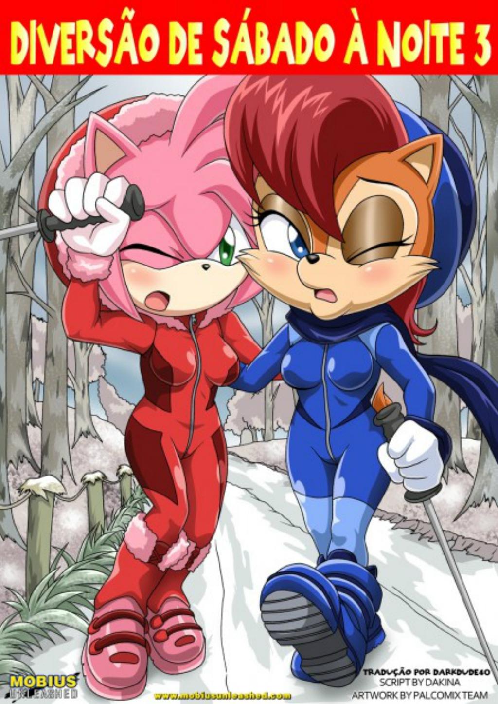 Sonic – Diversão de sábado a noite 4 – HQ Comics