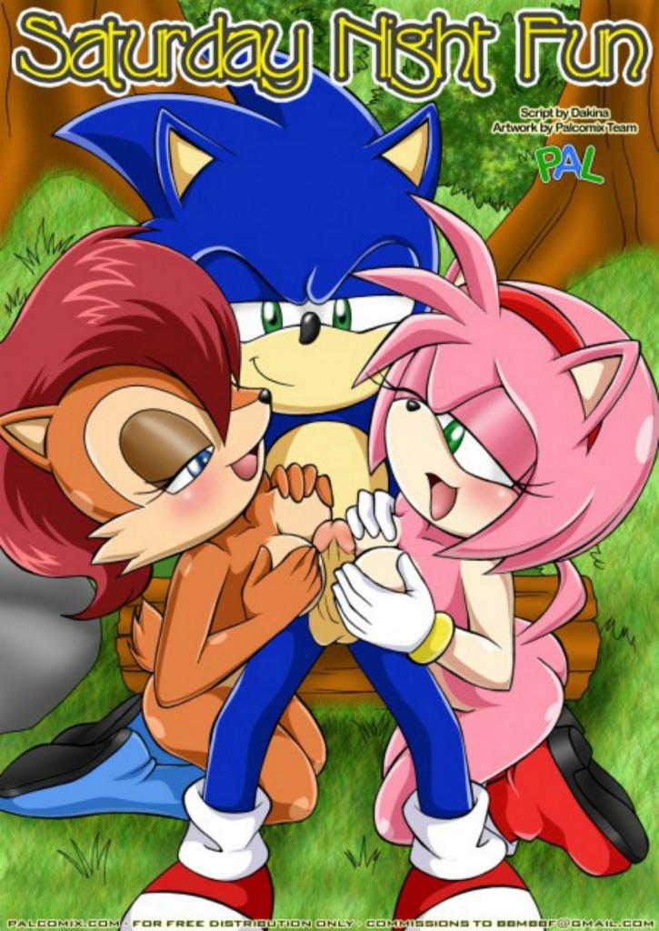 Sonic – Diversão de sábado a noite 1 – HQ Comics